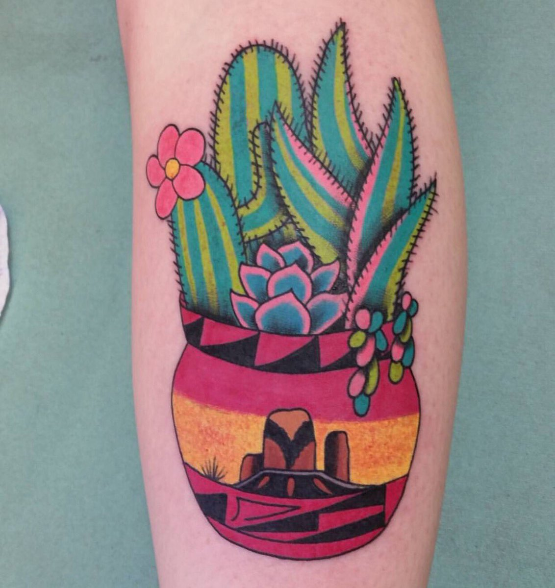 21 Potted Plant Tattoos