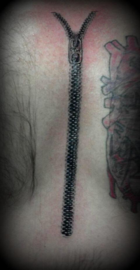 54+ Unique Zipper Tattoos Collection