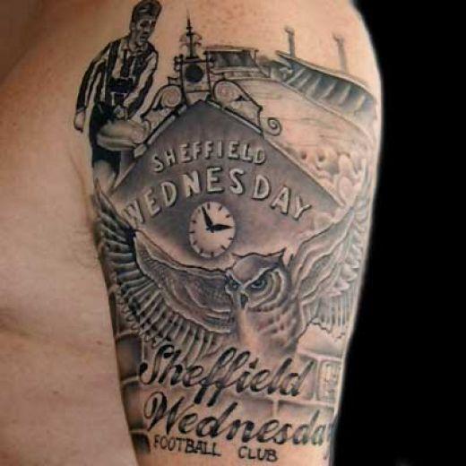 England Sleeve Tattoo Designs: 35+ Best Football Tattoos Ideas