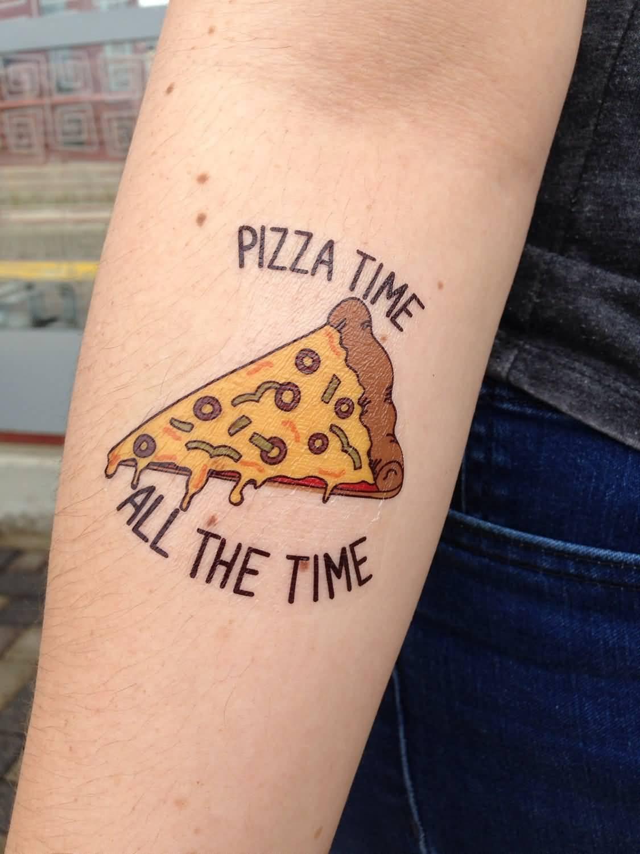 Pizza Tattoo