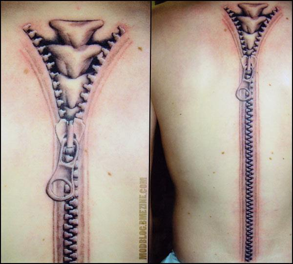 54+ Unique Zipper Tattoos Collection