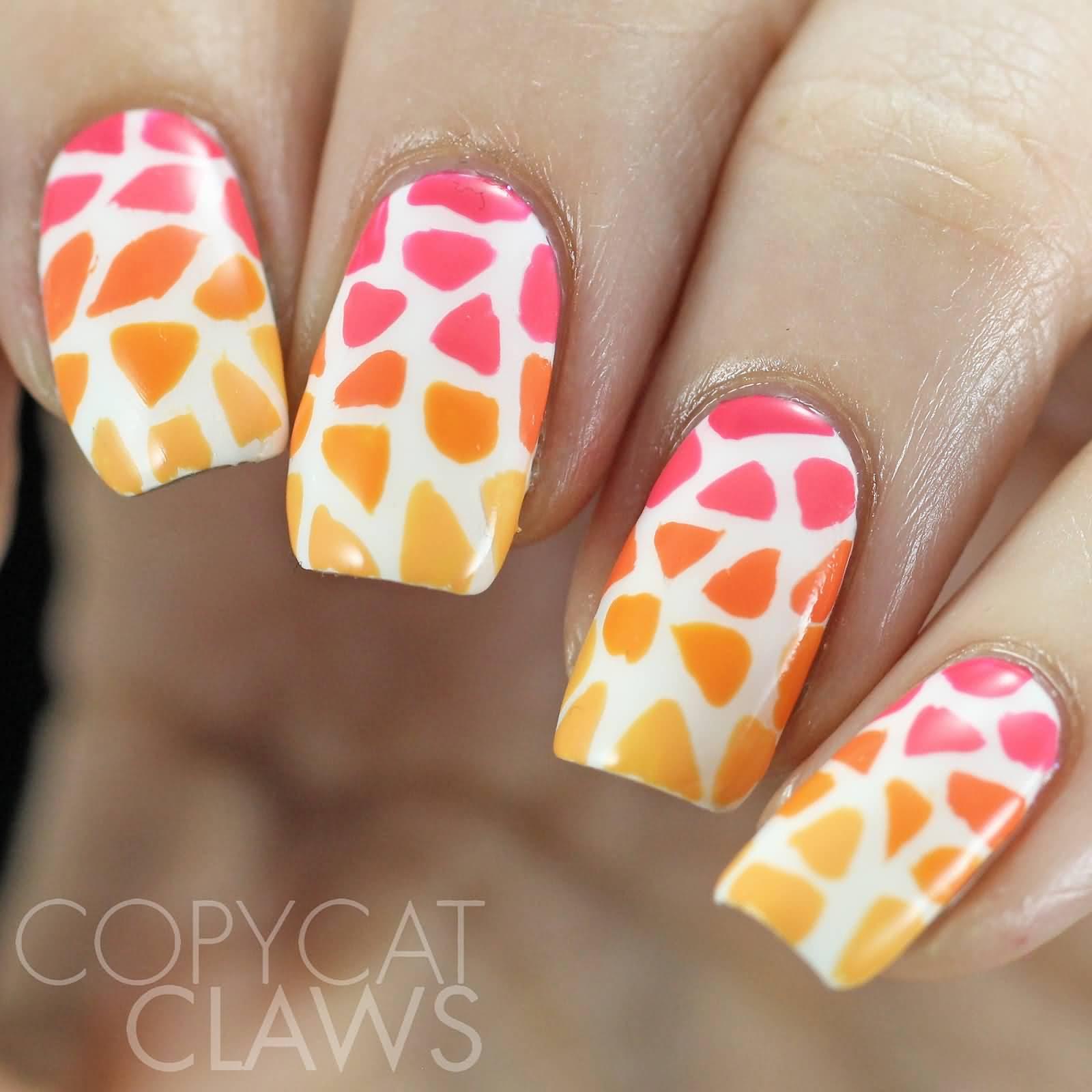 50 Latest Mosaic Design Nail Art Ideas For Trendy Girls