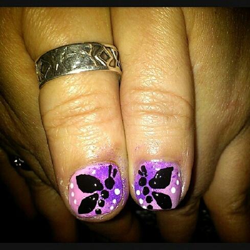 55 best butterflies nail art design ideas for trendy girls