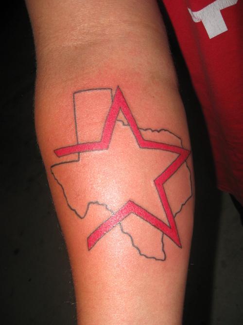 19 texas star tattoos. Black Bedroom Furniture Sets. Home Design Ideas