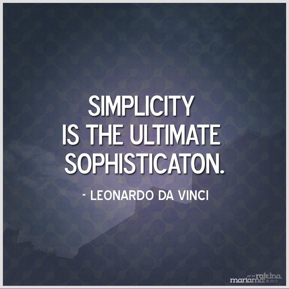 Simple Quotes 70 Simplicity Quotes Sayings About Being Simple