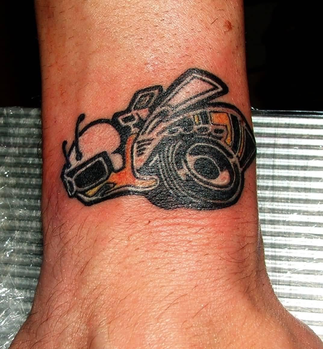 Turbocharger tattoo the image kid has it for Small cartoon tattoo designs