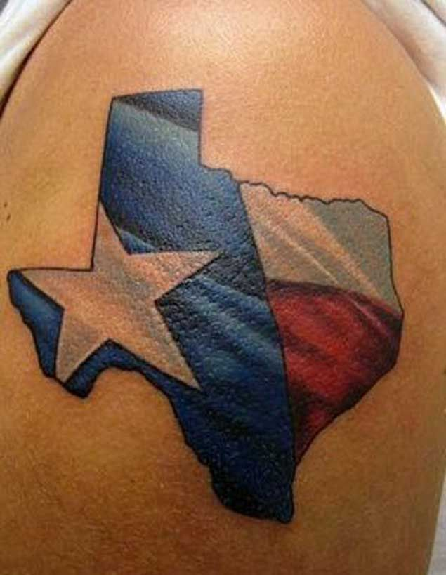 4 nice texas pride tattoos. Black Bedroom Furniture Sets. Home Design Ideas