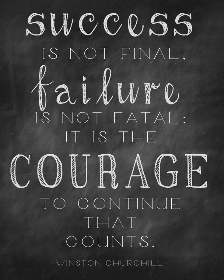 Inspirational Quotes About Failure: 61+ Courage Quotes, Sayings About Being Courageous