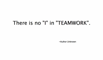 the complexity of team work essay