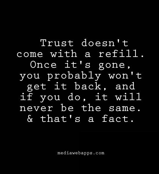 I Will Never Trust Anyone Again Quotes: Trust Quotes Related Keywords & Suggestions