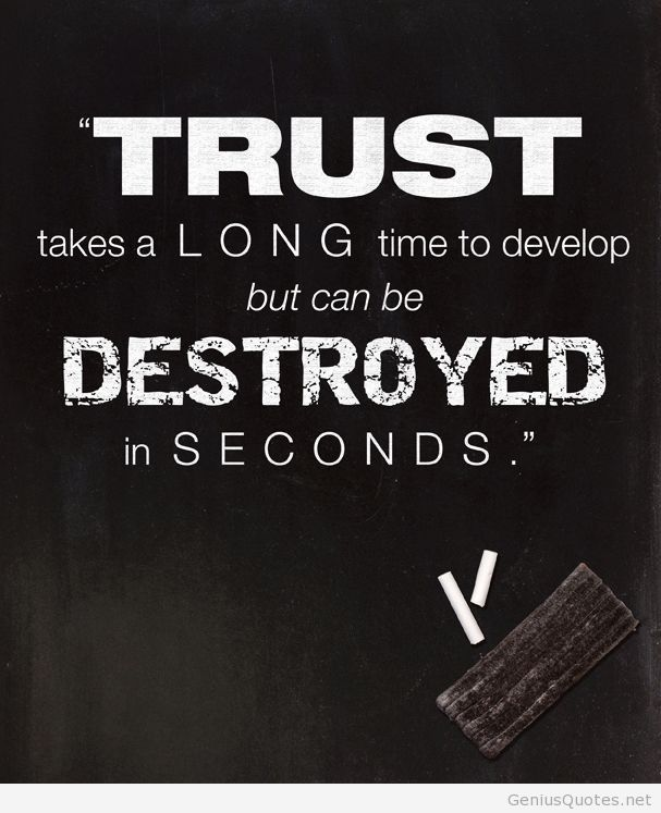 77 Best Trust Quotes Sayings