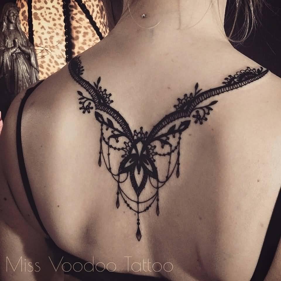 e0798bdc2 40+ Latest Necklace Tattoos Ideas