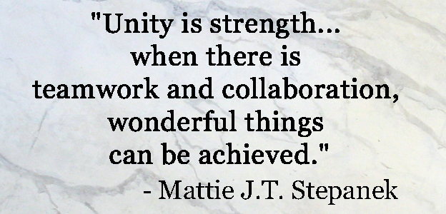 Inspirational Quotes About Teamwork Adorable 104 Teamwork Quotesquotesurf