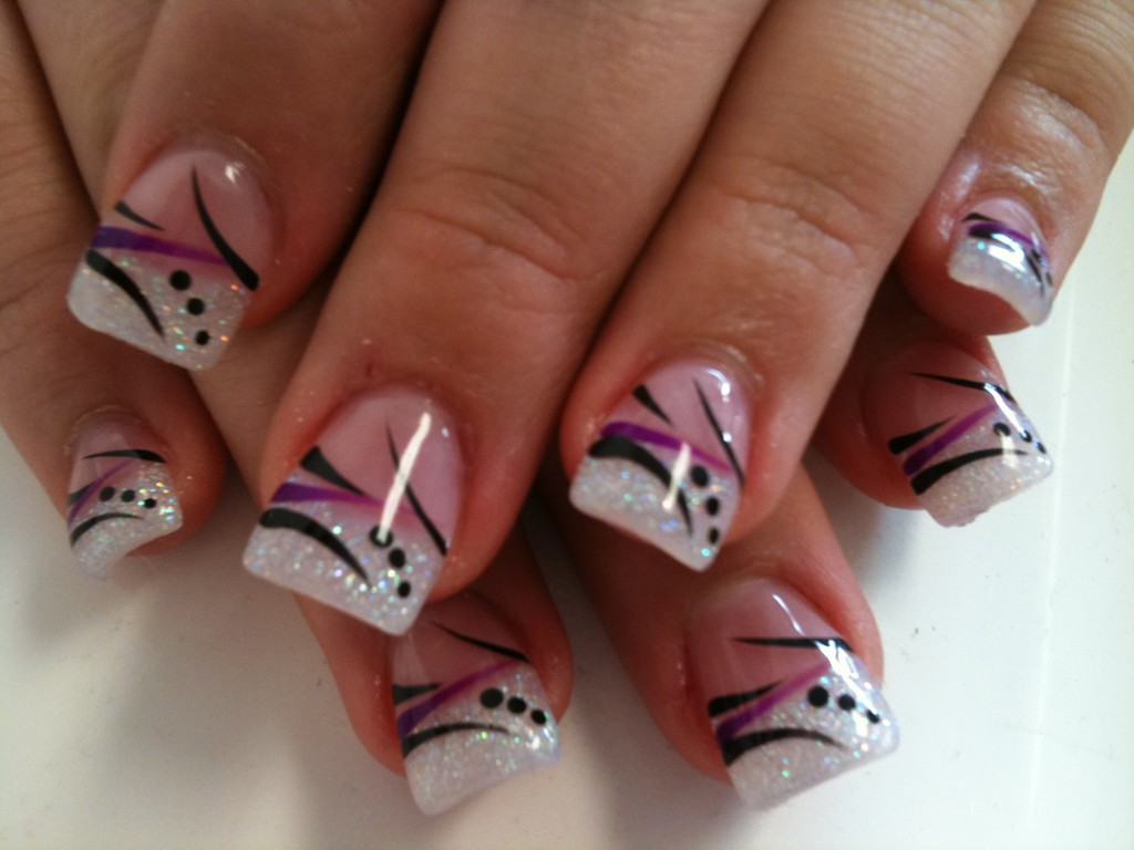 Pink Black And White Nail Designs | Graham Reid