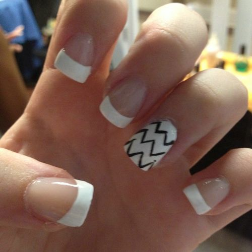 Simple White Nail Polish Designs Hession Hairdressing