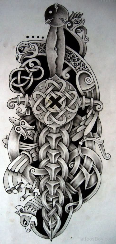 35+ Knife And Dagger Tattoo Designs