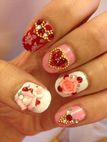 60 latest chinese nail art designs 3d chinese nail design idea prinsesfo Choice Image