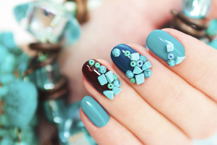 55+ Most Beautiful Japanese Nail Art Design Ideas