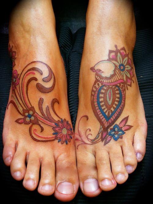 38 Beautiful Paisley Pattern Tattoos