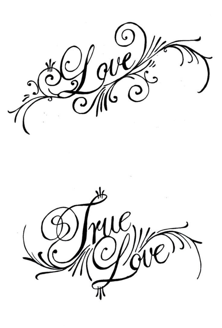 Love tattoo design by thoriginaltriforce for Love in design