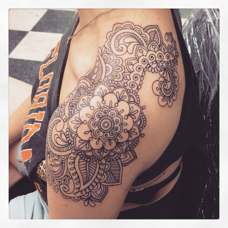 Paisley Pattern Tattoo Images Designs: 38+ Beautiful Paisley Pattern Tattoos