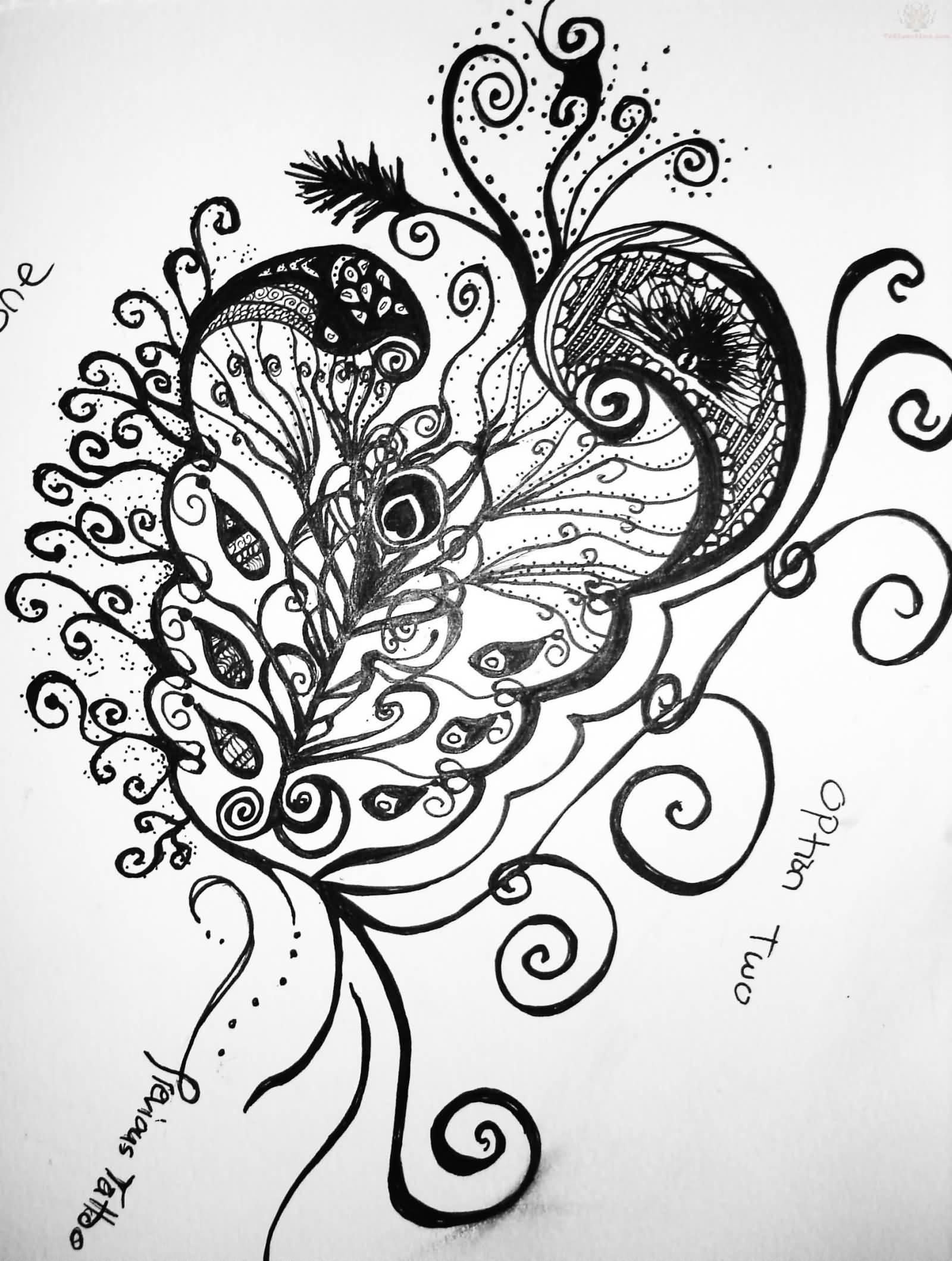 50 paisley pattern tattoos designs. Black Bedroom Furniture Sets. Home Design Ideas