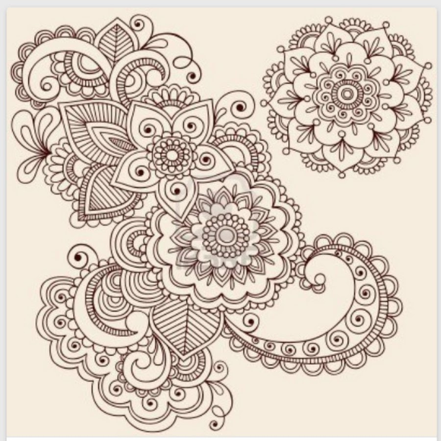 Mandala And Flower Tattoo: 50+ Paisley Pattern Tattoos Designs