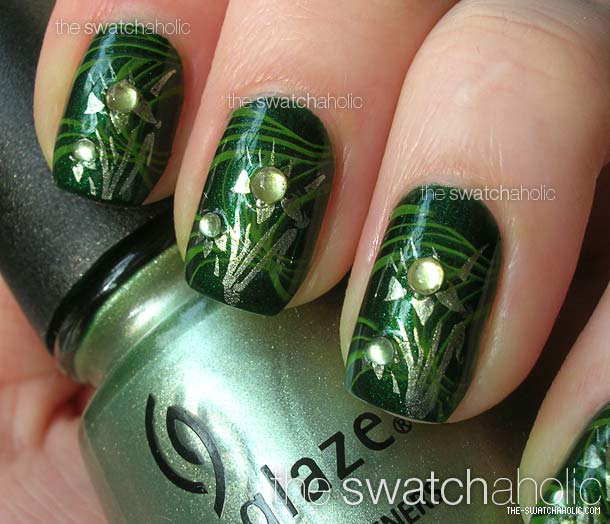 70 Most Beautiful 3d Nail Art Design Ideas For Trendy Girls: 55 Most Incredible Green Nail Art Design Ideas For Trendy