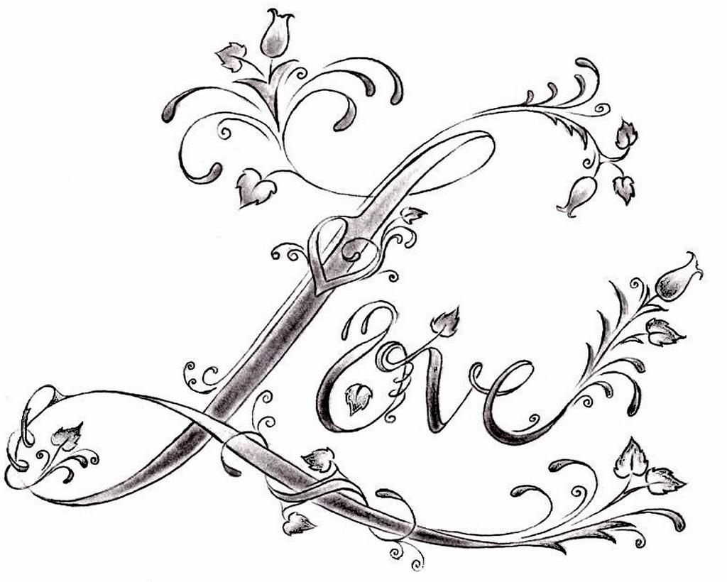 16 love tattoo designs. Black Bedroom Furniture Sets. Home Design Ideas