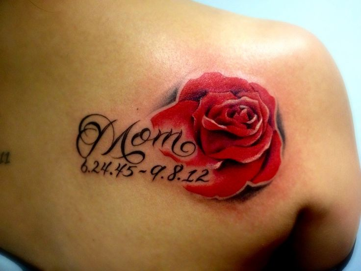 35 amazing mom tattoo designs for Memorial tattoos for mom