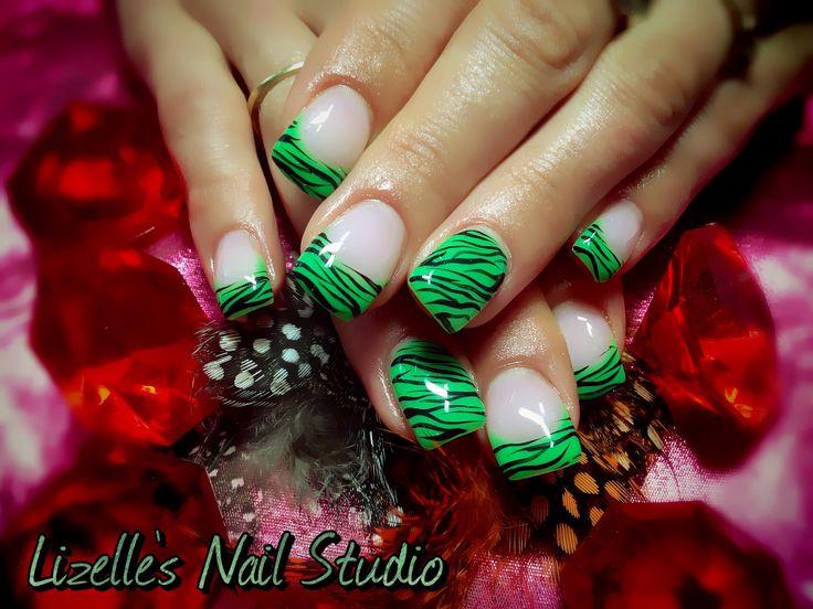 Zebra Nail Polish Designs Hession Hairdressing