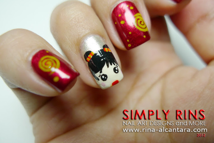 60 Latest Chinese Nail Art Designs