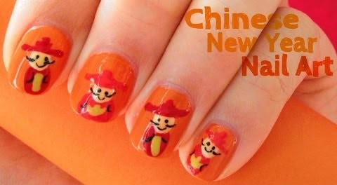 Chinese new year nail art design 2016 best nails 2018 60 latest chinese nail art designs 10 amazing diy new year prinsesfo Images