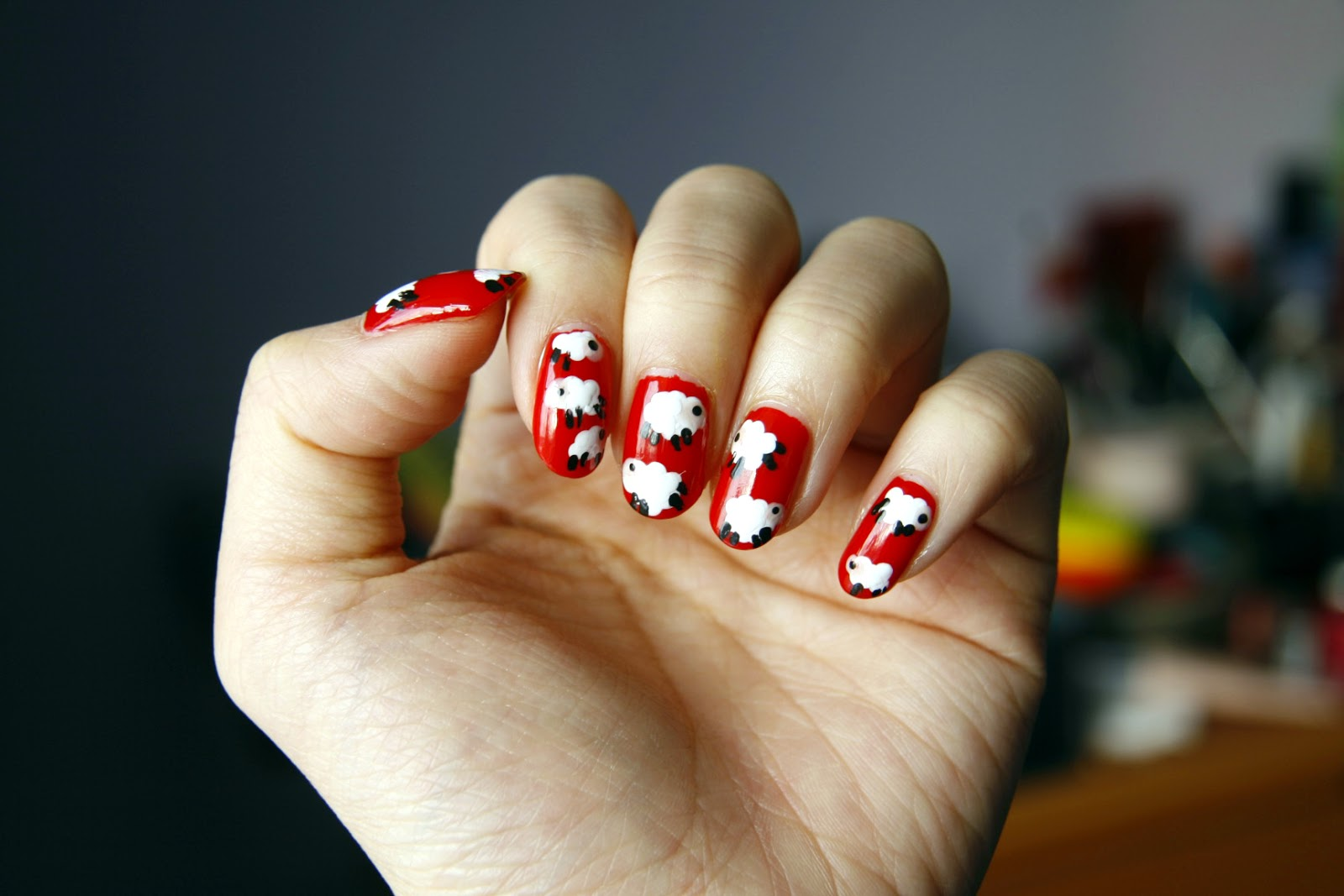 Chinese new year nail art tutorial best nails 2018 chinese new year nail designs 2016 best ideas prinsesfo Images