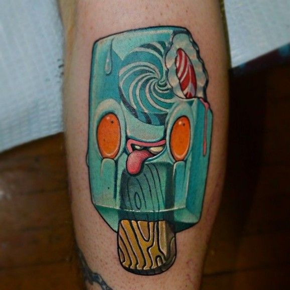 50 sweet ice cream tattoos for Ointment for new tattoo