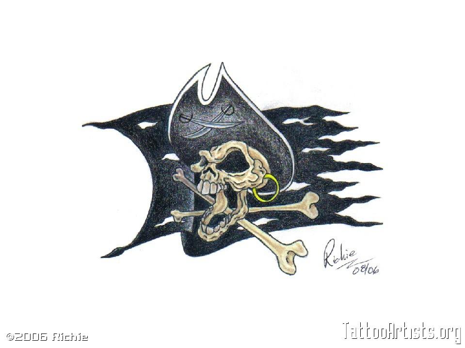 22 jolly roger tattoo designs