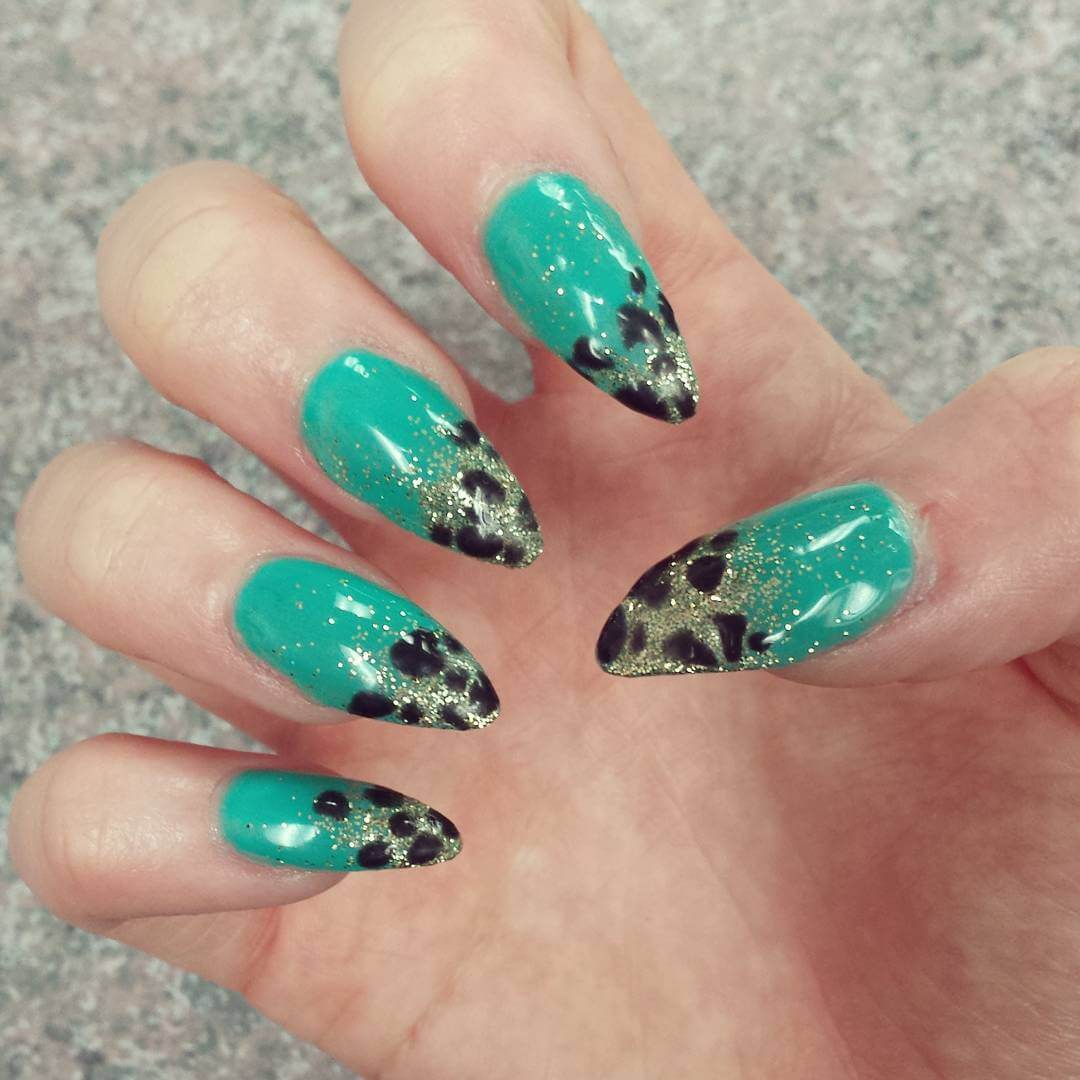 55 Most Incredible Green Nail Art Design Ideas For Trendy Girls