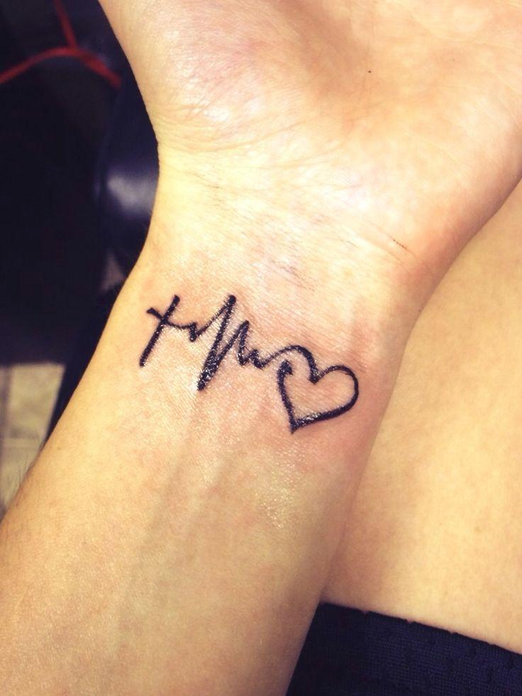 Faith Love Life Tattoo On Wrist