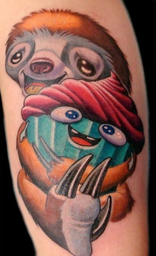 Small Funny Tattoo Ideas: 50+ Sweet Ice Cream Tattoos