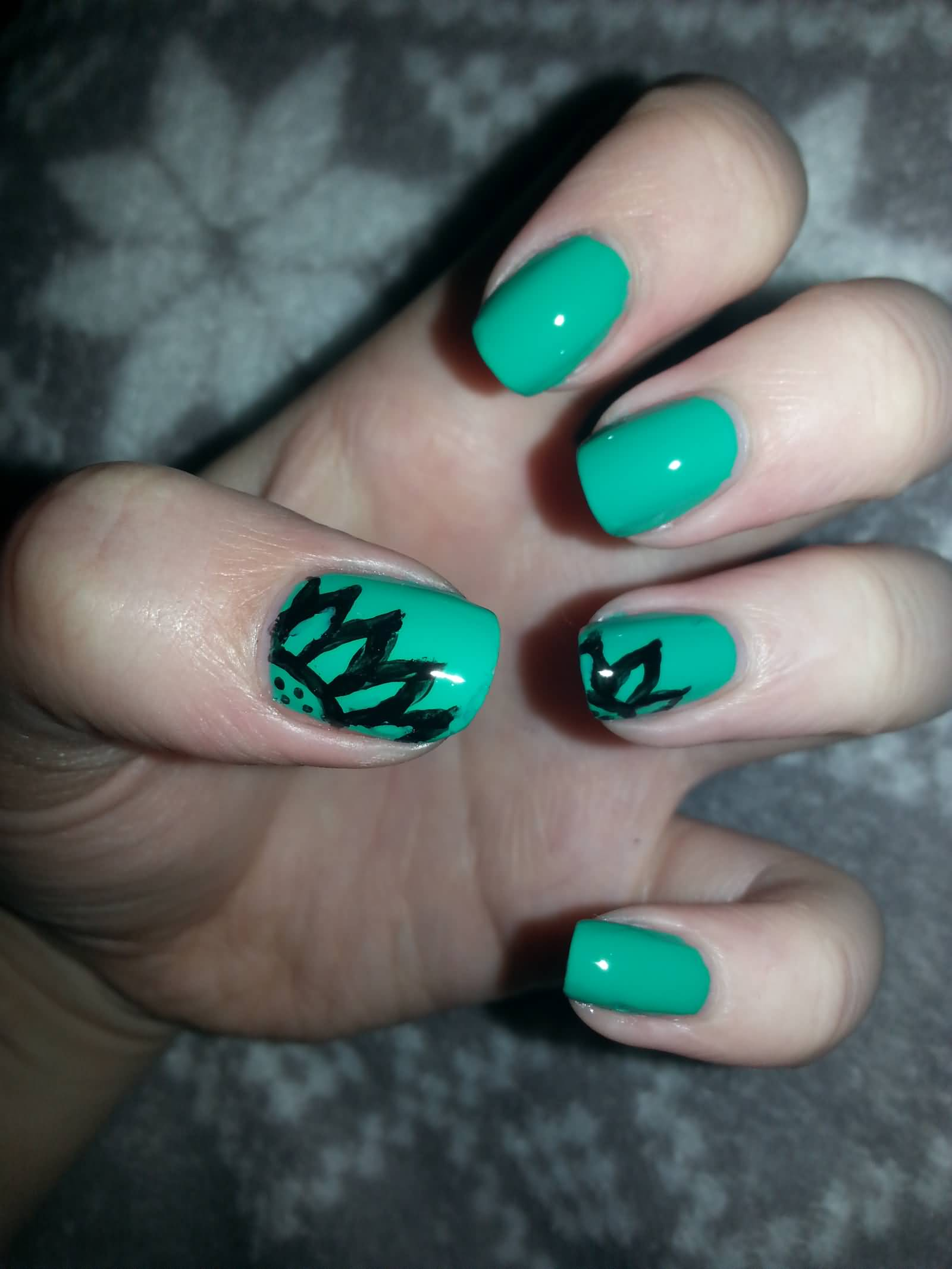 55 Most Incredible Green Nail Art Design Ideas For Trendy