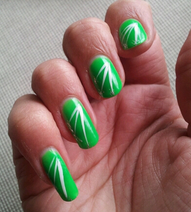 Lime Green Nail Polish Ideas Hession Hairdressing