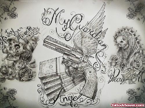 30+ Latest Gangsta Tattoo Designs