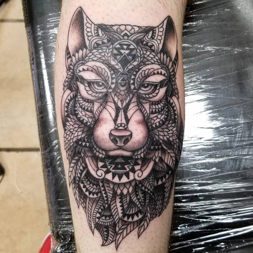 46 Unique Wolf Head Tattoos Ideas: 45+ Unique Mosaic Tattoos Ideas