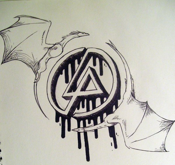 Linkin Park Logo Drawing Guards Of The Linking Symbol Tattoo