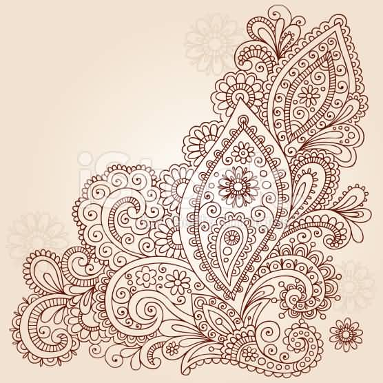Paisley Pattern Tattoo Images Designs