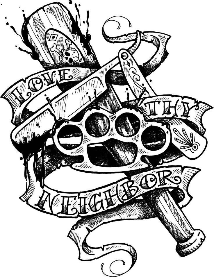 30 Latest Gangsta Tattoo Designs