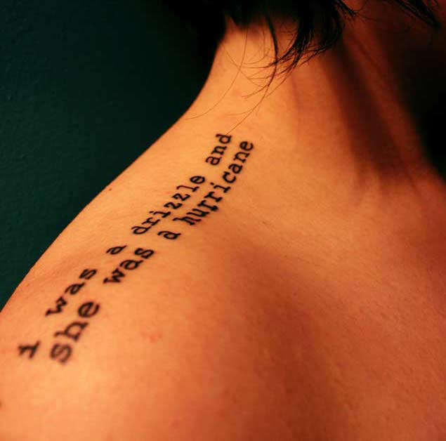 52+ Love Quotes Tattoos