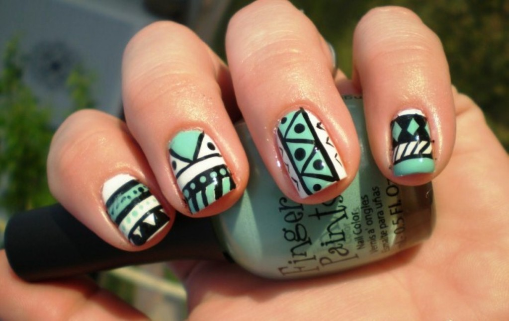 Mint Green Nails Ideas Papillon Day Spa