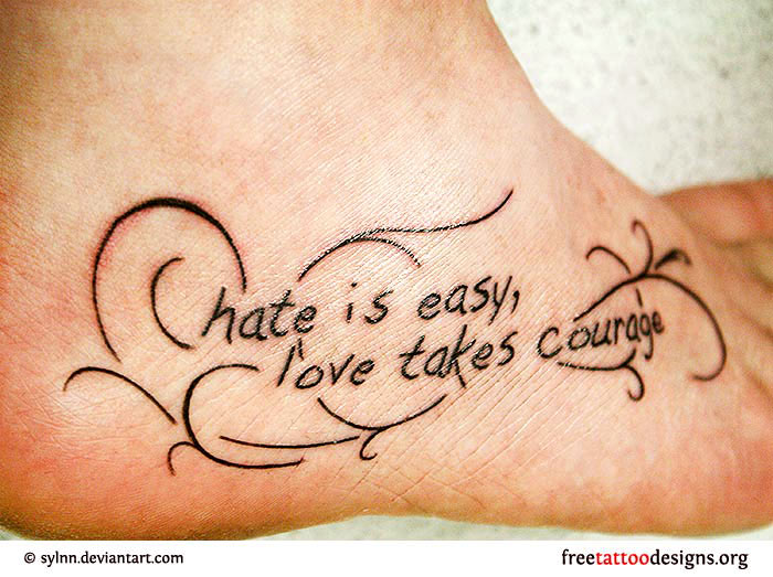 52 love quotes tattoos for Tattoos love quotes