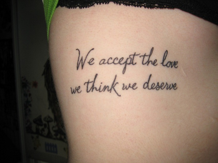 Etonnant Nice Love Quote Tattoo